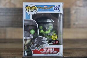 Funko Pop! SPIDER-MAN HOMECOMING #227 Vulture Glow'N'The Dark GameStop Exclusive