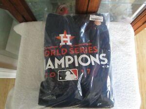 Houston Astros Sweatshirt 2017 World Series MLB Baseball Mens  4XL