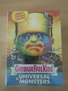 garbage pail kids / universal monster BLUE sealed box