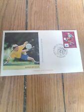 france timbre sport foot 98 Enveloppe  coupe du monde de football 1998 Bordeaux