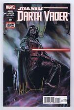Darth Vader #1 Very Fine 1st Print Signed w/COA Adi Granov 2015 Marvel