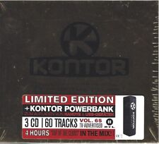 KONTOR TOP OF THE CLUBS VOL. 65 - LIMITED EDITION * NEW 3CD BOXSET 2014 * NEU