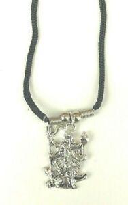 Om Aum Kali Mata Maa Ambe Hindu Goddess Pendant Yoga Meditation Thread Necklace