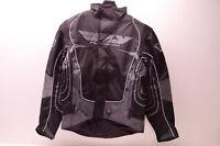 Fly Racing 470-2150L Jacket Black/Grey Large Lg Mens NOS