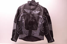 Fly Racing 470-2150L Jacket Black/Grey Large Lg Mens NOS