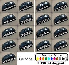 2x Stickers autocollant réservoir moto café racer / bobbers / 17 modèles ver.B