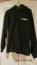 Vintage  Harley Davidson Custom Chrome Hooded Sweatshirt