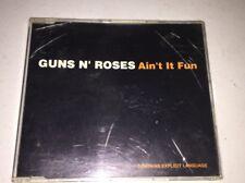 Guns N Roses Ain't It Fun Single CD Down On The Farm Attitude