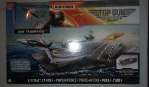 Matchbox Top Gun Maverick Aircraft Carrier - NIB - Mattel
