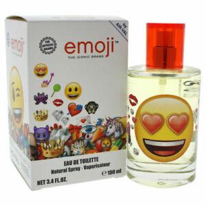 Emoji by Air-Val International for Kids - 3.4 oz EDT Spray