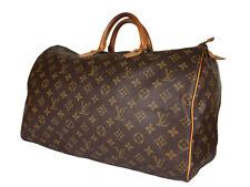LOUIS VUITTON Speedy 40 Monogram Canvas Leather Hand Bag LH3607