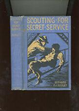 Boys Series  Scouting For Secret Service  Bernard Dooley pub by P. J. Kenedy