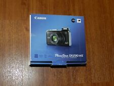 NEW in Open Box - Canon PowerShot SX230 HS 12.1 MP Camera - BLACK - 013803133929