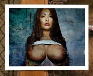 FINE ART Print - Exotic Nude_Water Color Look - Limited Edition Collection