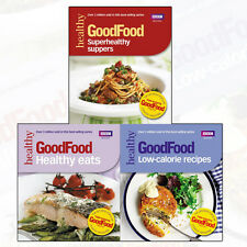 Good Food Recipes Collection Healthy Eat, Low-calorie, Superhealthy 3 Books Set