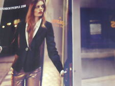PUBLICITE ADVERTISING  2012  SISLEY  haute couture hiver 2012/2013  ( 2  pages)