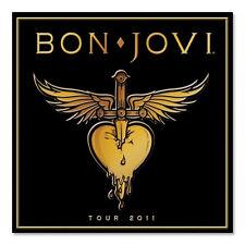 BON JOVI  2011 Tour Program  Concert Book NEW