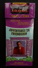 Beadshine Mister Rogers Neighborhood Sealed VHS w/ Limited Edition Trolley 2005