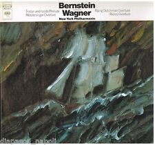 Wagner: Tristan and Isolde, meistersinger, Rienzi, Flyng Dutchman / Bernstein LP