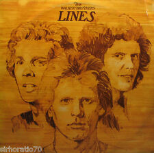 The WALKER BROTHERS Lines LP 1976