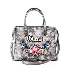 Borsa Guess Badlands Denim Bauletto Dm699206 Nero
