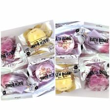 Bath Bombs Bulk (10) Individually Wrapped Designer Bath Bombs By B.A.G. 5 Oz Ea