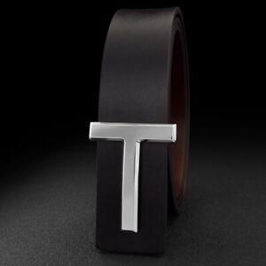 2021 Luxury Designer T Belt Men Women T Buckle Waist Strap for Jeans Waistband