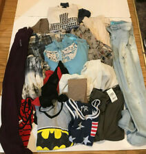 ASSORTED LOT 14 PIECES WOMENS CLOTHING SIZE SMALL, ALL EXC. CONDITION - REVISED