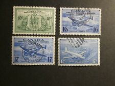 Canada 1942-46 Special Delivery stamps selection Fine Used