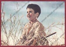 PABLITO CALVO 09 ATTORE ACTOR ACTEUR CINEMA MOVIE - SPAIN ESPAÑA Cartolina 1957
