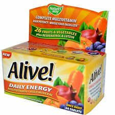 Energía Viva! diario Multi-Vitamina & Mineral - 60 tabletas by Nature's Way