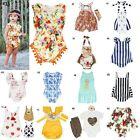Newborn Infant Bodysuit Romper Baby Girl Jumpsuit Outfits Boy Summer Clothes Lot