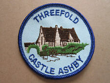 Threefold Castle Ashby Woven Cloth Patch Badge