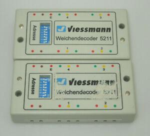 Viessmann 2x 5211 Weichendecoder