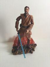 Hasbro Lava Reflection Obi-Wan Kenobi Exclusive Star Wars Action Figure Loose