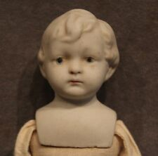 7 ½� Stone bisque boy antique vintage doll Wwii Nippon-Estate Sale Lot 317