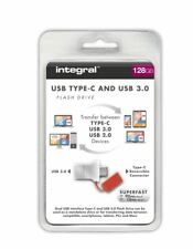 128GB Integral Fusion USB Type-C Flash Drive for a 'no wrong way round' fit.