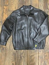 NWT ROUNDTREE & YORKE Luxury LAMBSKIN BROWN Leather Jacket Mens 2XT Tall