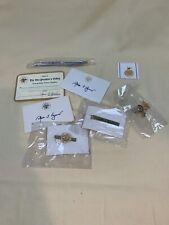 Vice President Spiro Agnew Signature Card, Cuff Links, Pen, More- Nixon VP c897