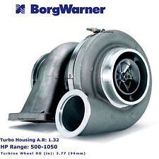 NEW Borg Warner Turbo Charger S400 S400SX4 75mm 1.32 A/R T6 Airwerks 500-1050 HP