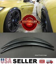 "1 Pair Carbon Effect 1"" Diffuser Wide Fender Flares Extension For Hyundai Kia"