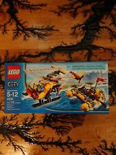 Lego City Helicopter And Raft