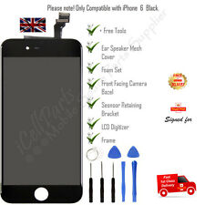 For iPhone 6 Black LCD Display Touch Screen Digitizer +Tools