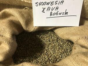AKTION!!!  1 Kilo Rohkaffee Grünkaffee Indonesien JAVA ROBUSTA  Bohnen Kaffee
