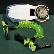 UWATEC Slate w/ Pencil Compass Cetacea Coiled Scuba Diving Quick release Lanyard