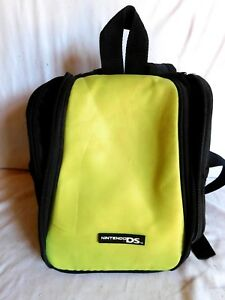Nintendo Game Boy DS  Carrying Case Bag Black/Yellow Mini Back