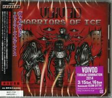 VOIVOD-WARRIORS OF ICE-JAPAN CD BONUS TRACK F83