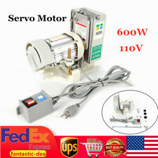 New ListingSewing Machine Brushless Servo Motor Set 600W 110V Energy Saving 500-4500R/Min
