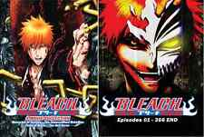 DVD Bleach Complete Series ( Episode 1 - 366 End + 4 Movie )  English Version