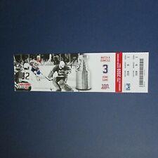 Montreal Canadiens  ticket CLAUDE LEMIEUX MIKE LIUT 1986 finals Hartford Whalers